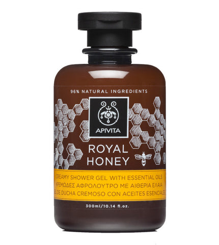 Apivita Royal Honey kremasti gel za tuširanje 300 ml