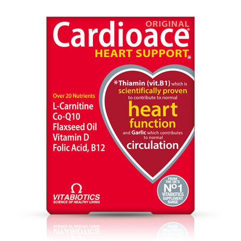 Vitabiotics Cardioace Original 30 tableta