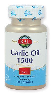 Kal Garlic Oil 1500 češnjak 100 softgelova