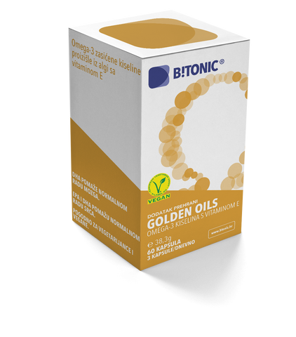 B!TONIC Golden Oils 60 kapsula