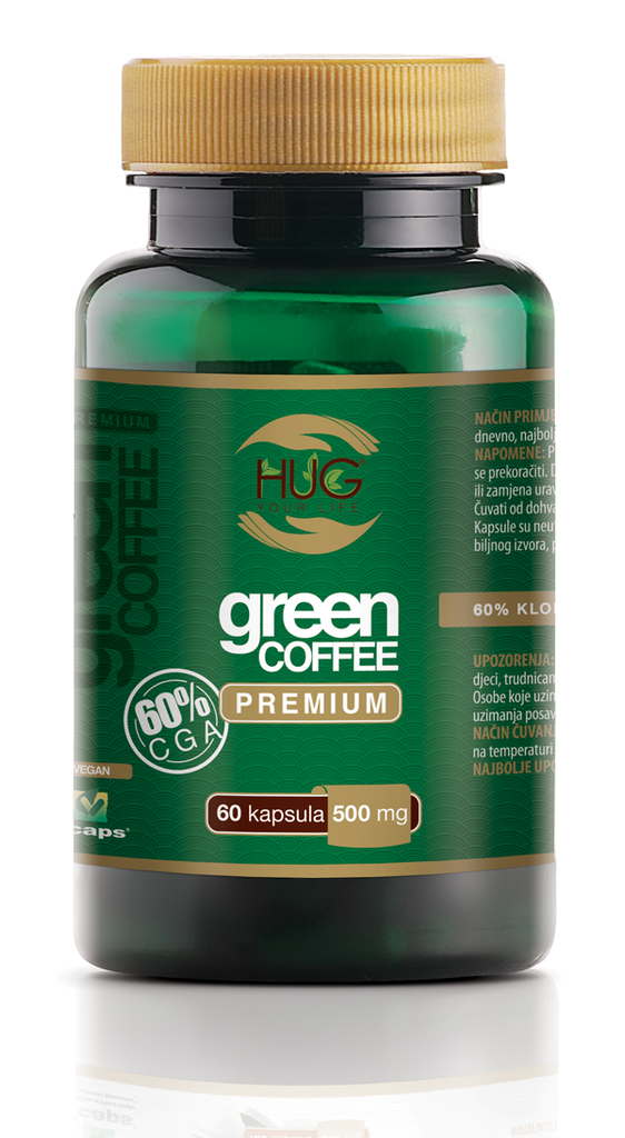 HUG green coffee