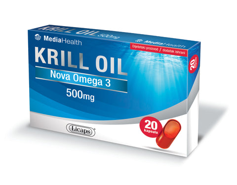MediaHealth Krill oil kapsule 500mg