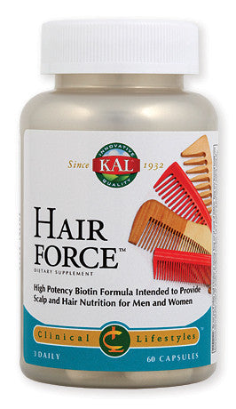 Kal Hair Force za revitalizaciju kose 60 kapsula