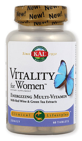 Kal Vitality for Women za hormonalnu regulaciju i vitalnost žena 60 tableta