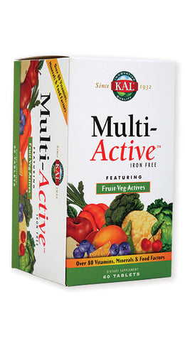 Kal Multi-Active multivitamin 60 tableta