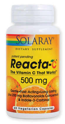 Solaray Reacta C vitamin kapsule 60x500 mg