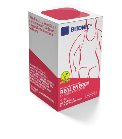 B!TONIC Real Energy 60 kapsula