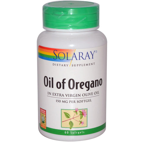 Solaray Oil of Oregano 60 perli