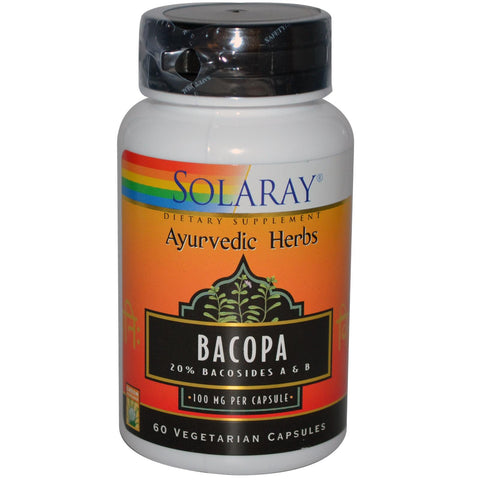 Solaray Bacopa kapsule 60x100 mg