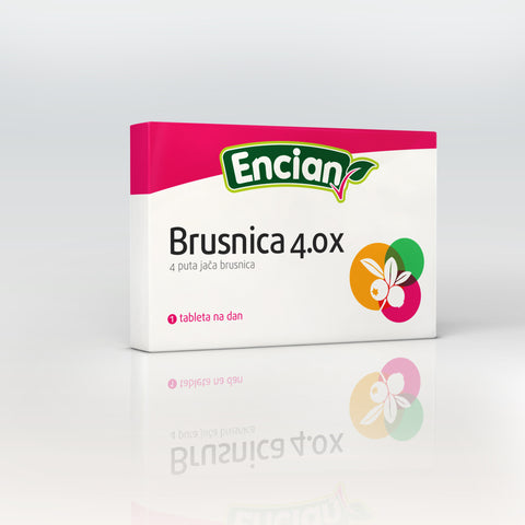 Encian Brusnica 4X tablete 16x450 mg