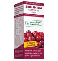 Brusnica kompleks kapi 50ml