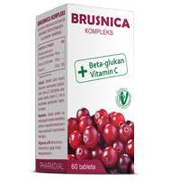 Brusnica kompleks 60 tableta