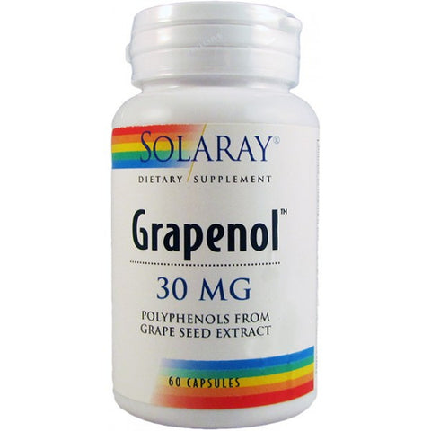 Solaray Grapenol kapsule 60x30 mg