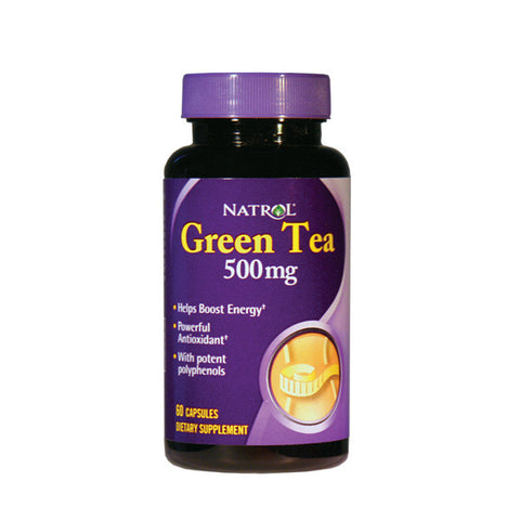 Natrol Green Tea 500mg 60 kapsula