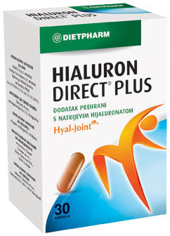 Dietpharm Hialuron Direct Plus 30 kapsula