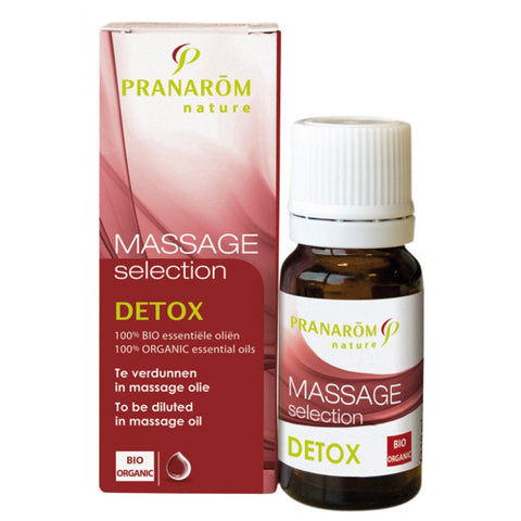 Pranarom Massage selection Detox 10 mL