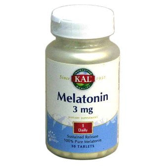 Kal Melatonin 3 mg