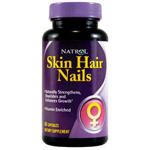 Natrol Skin Hair Nails 60 kapsula