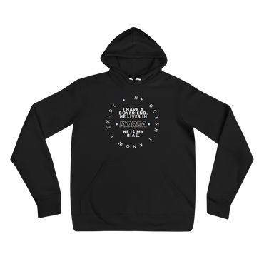 He Does Not Know I Exist Hoodie