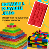 Lego Brick Jello Mold Set of 2 pcs