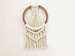 Small Double Fringe Ring