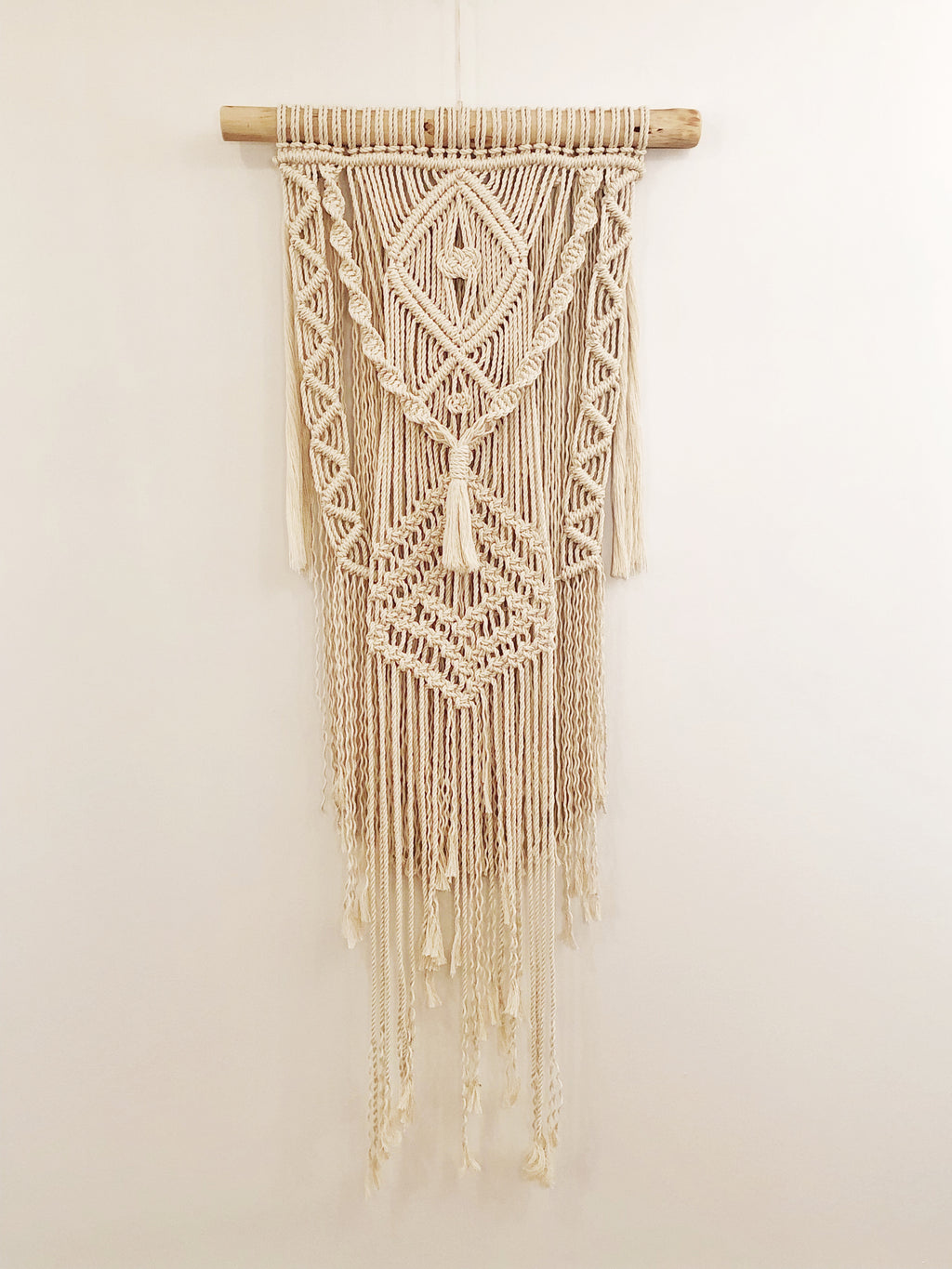 Large Birch Macrame