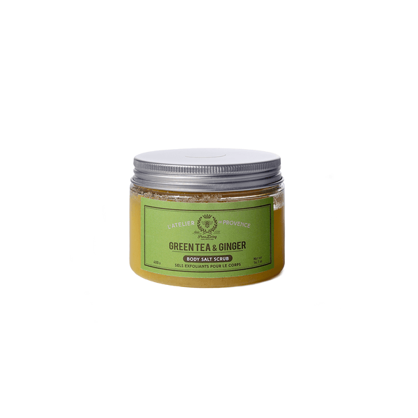 Green Tea & Ginger Body salt scrub