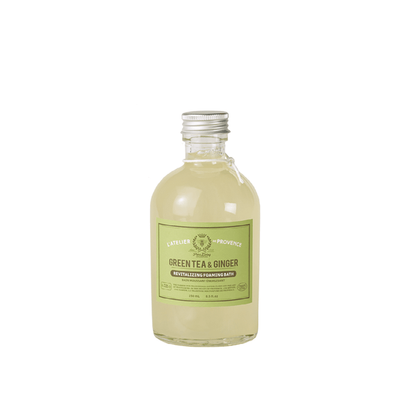 Green Tea & Ginger Revitalizing Foaming Bath