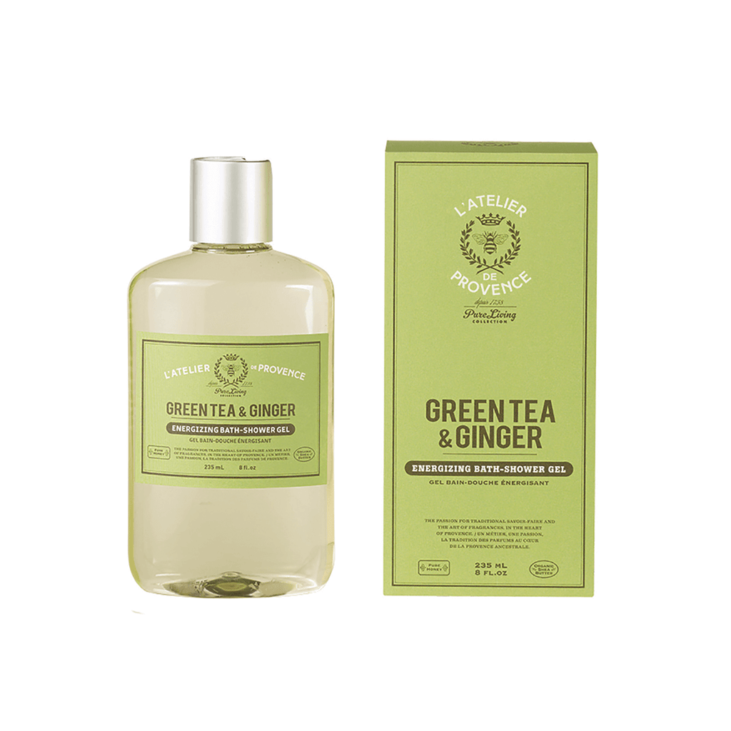 Green Tea & Ginger Energizing Bath-Shower Gel