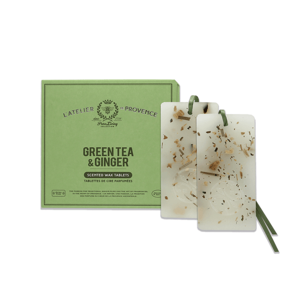 Green Tea & Ginger Scented Wax Tablets