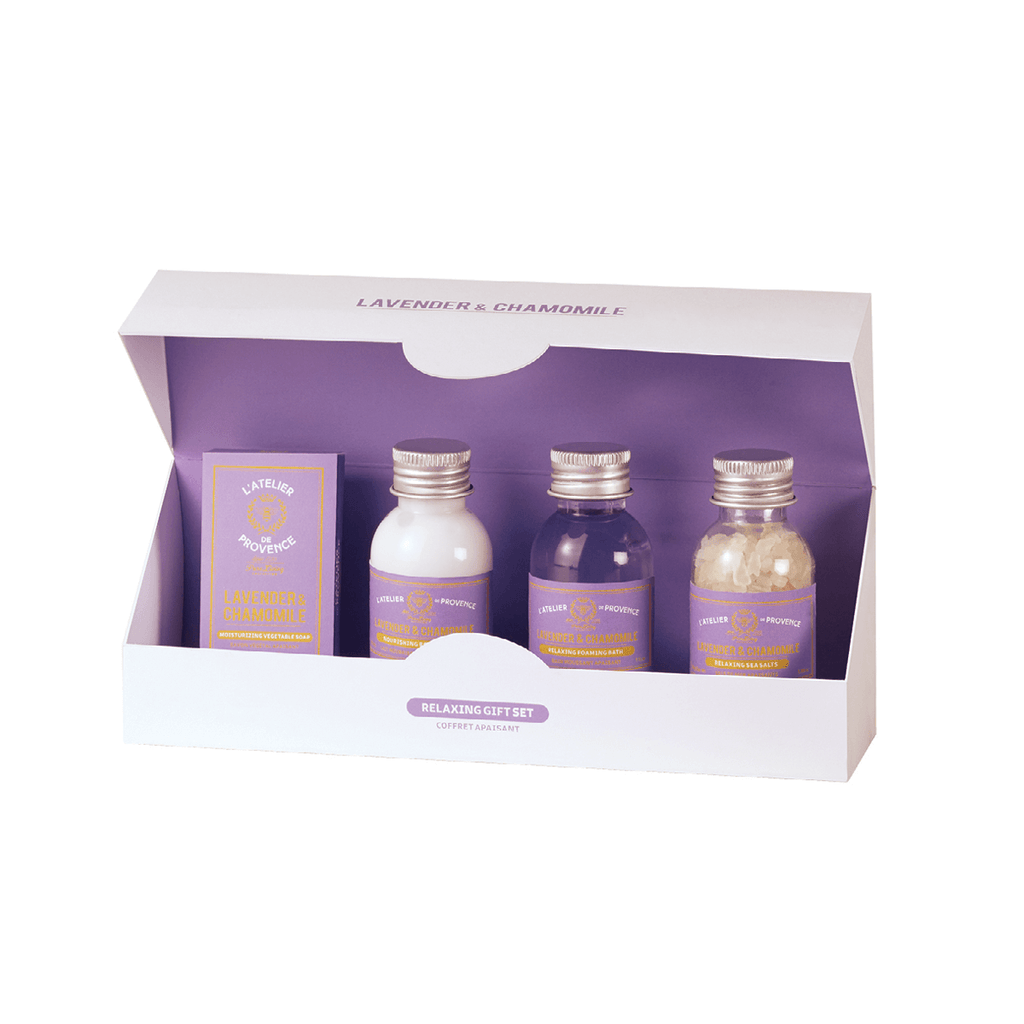 Lavender & Chamomile Relaxing Gift Set