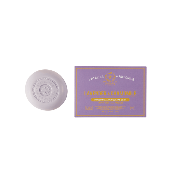 Lavender & Chamomile Moisturizing Vegetable Soap