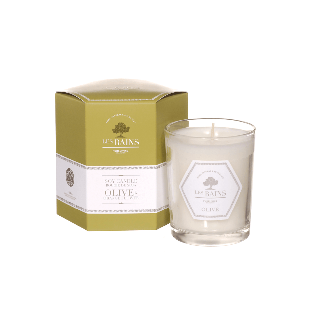 Olive & Orange Flower Soy Candle