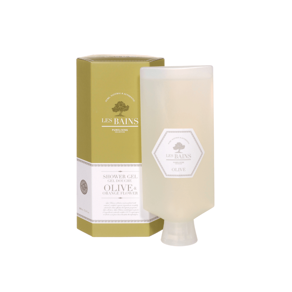 Olive & Orange Flower Shower Gel