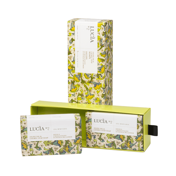 N°2 Olive Oil & Laurel Leaf Soaps