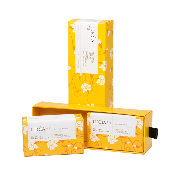 N°3 Tea Leaf & Wild Honey Soaps