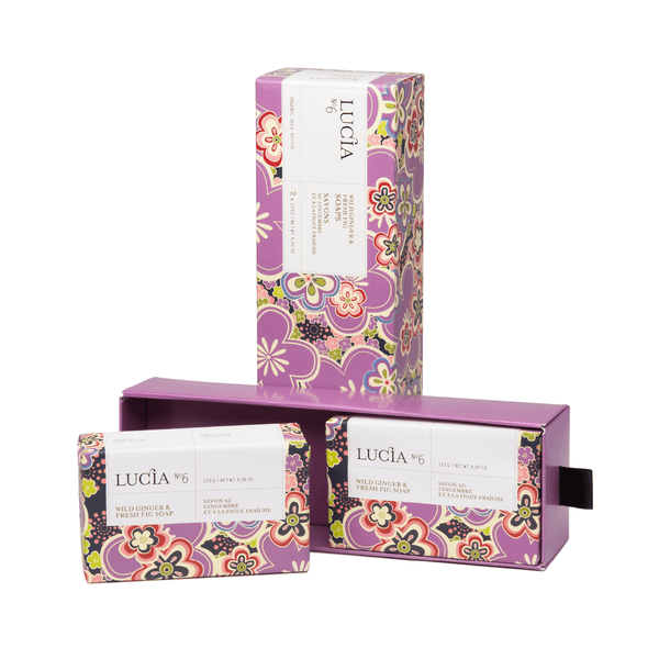 N°6 Wild Ginger & Fresh Fig Soaps