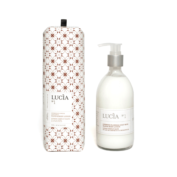N°1 Linseed Flower & Goat Milk Hand & Body Lotion