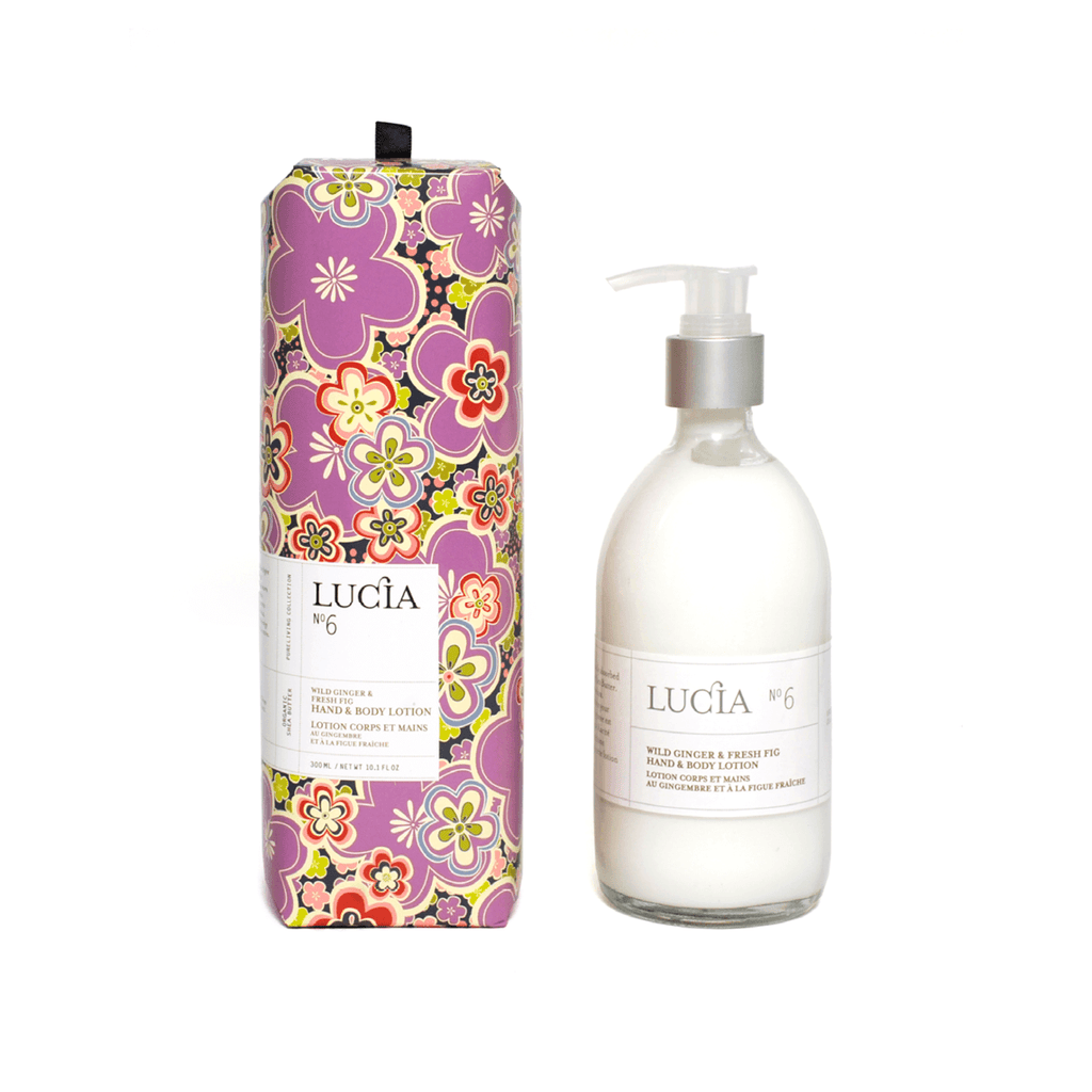 N°6 Wild Ginger & Fresh Fig Hand & Body Lotion
