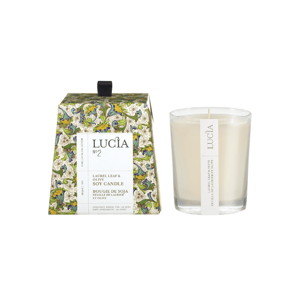 N°2 Laurel Leaf & Olive Soy Candle