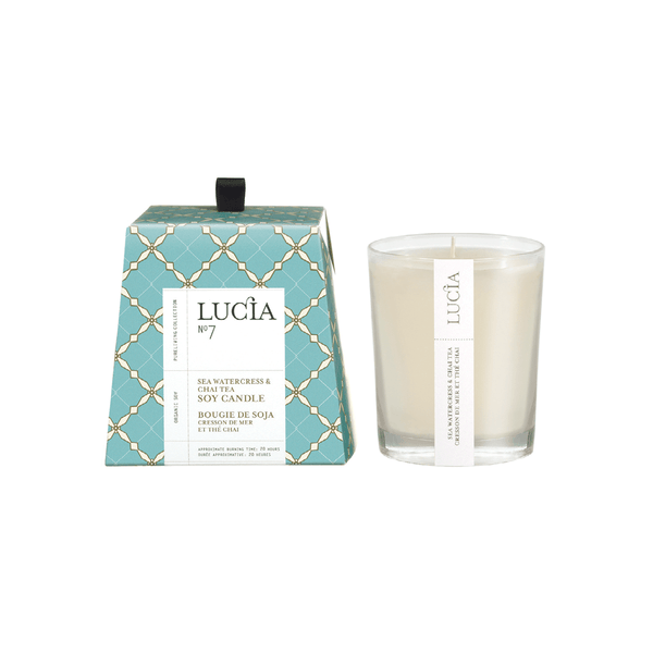 N°7 Sea Watercress & Chai Tea Soy Candle