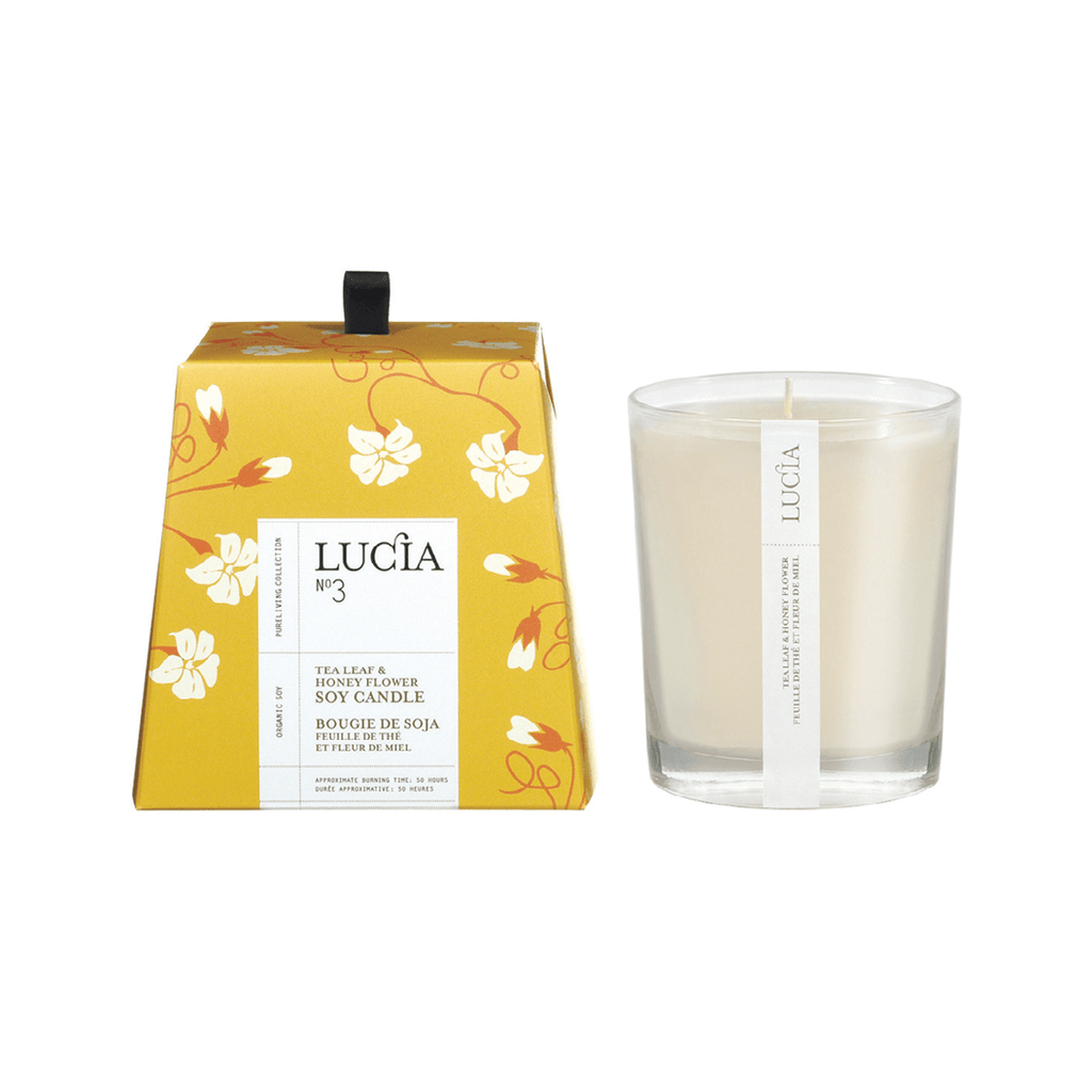 N°3 Tea Leaf & Honey Flower Soy Candle