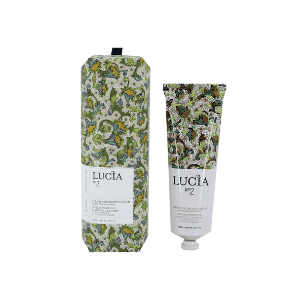 N°2 Olive Oil & Laurel Leaf Hand and Body Cream