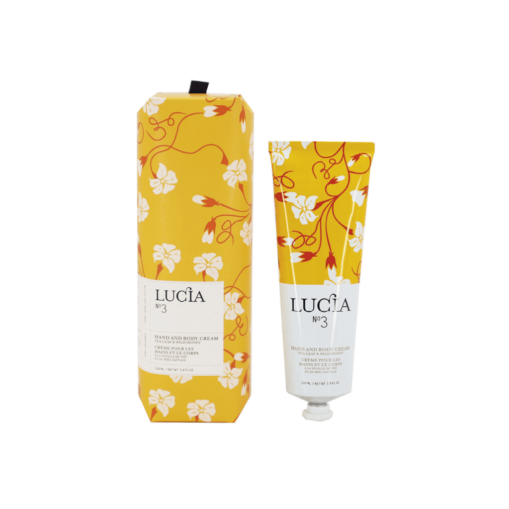 N°3 Tea Leaf & Wild Honey Hand and Body Cream