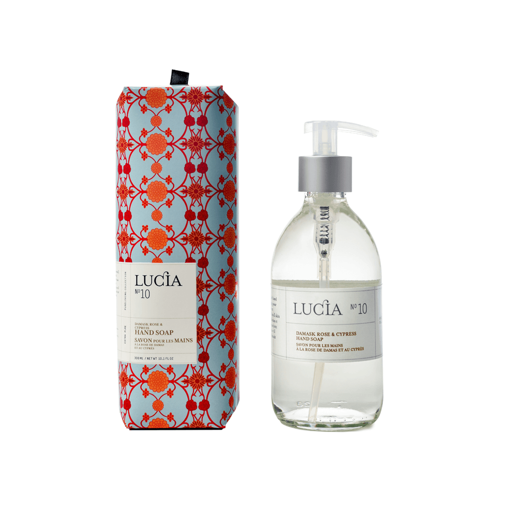 N°10 Damask Rose & Cypress Hand Soap