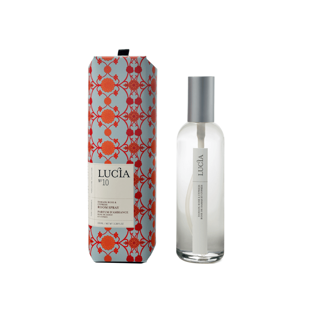 N°10 Damask Rose & Cypress Room Spray