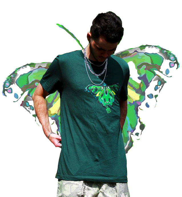 Ripped Butterfly Tee
