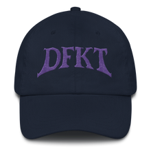 Load image into Gallery viewer, Purple Logo Dad hat