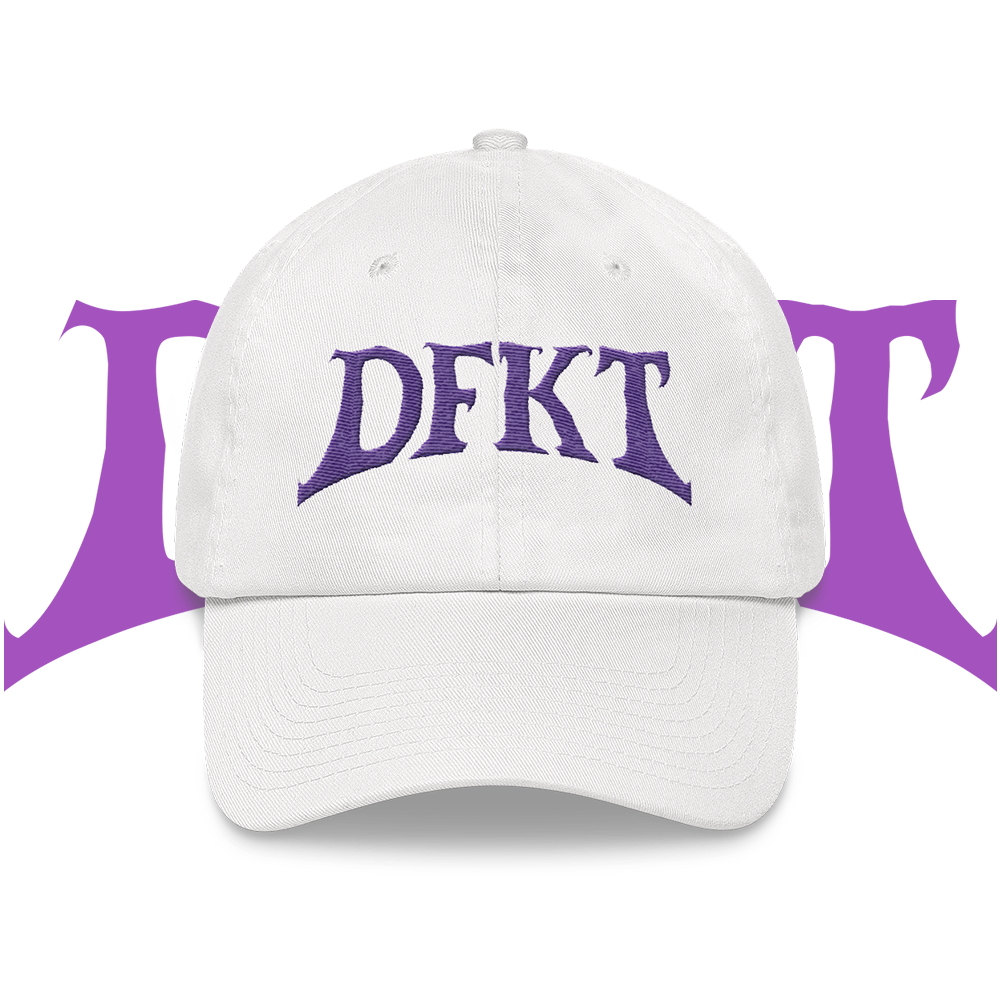 Purple Logo Dad hat