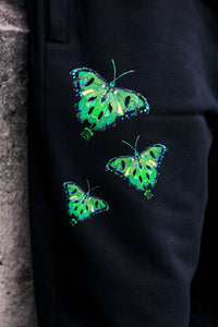 Ripped Butterfly Pants